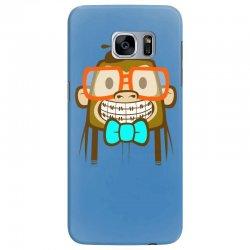 geek monkey Samsung Galaxy S7 Edge Case | Artistshot