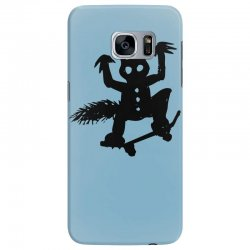 wild thing on a skateboard Samsung Galaxy S7 Edge Case   Artistshot