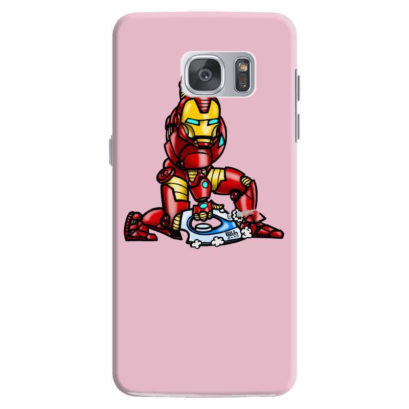 pretty nice fc6ed 9c0d1 The Real Iron Man Samsung Galaxy S7 Case. By Artistshot