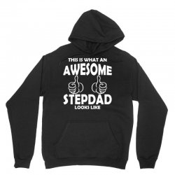 Awesome Stepdad Looks Like Unisex Hoodie | Artistshot