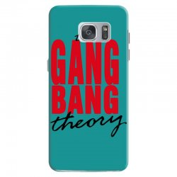 the gang bang theory Samsung Galaxy S7 Case | Artistshot