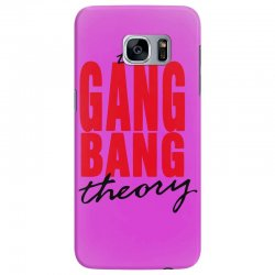 the gang bang theory Samsung Galaxy S7 Edge Case | Artistshot