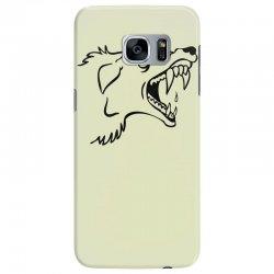 Screaming Mad Dog Samsung Galaxy S7 Edge Case | Artistshot