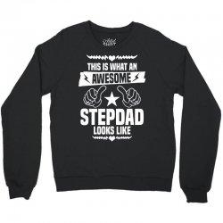 Awesome Stepdad Looks Like Crewneck Sweatshirt | Artistshot