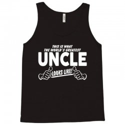 Worlds Greatest Uncle Looks Like Tank Top | Artistshot