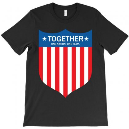 Together (one Nation. One Team) T-shirt Designed By Tshiart