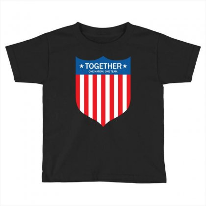 Together (one Nation. One Team) Toddler T-shirt Designed By Tshiart