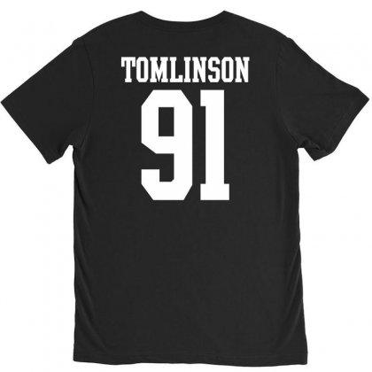 Tomlinson 91 V-neck Tee Designed By Tshiart