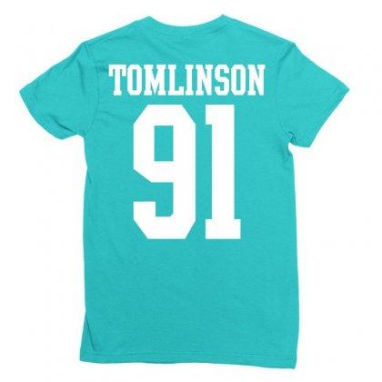Tomlinson 91 Ladies Fitted T-shirt Designed By Tshiart