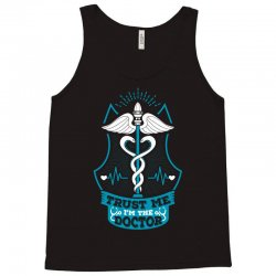 Trust Me I'm The Doctor. Tank Top | Artistshot