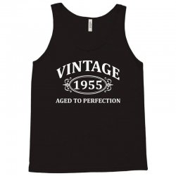 Vintage 1955 Aged to Perfection Tank Top | Artistshot