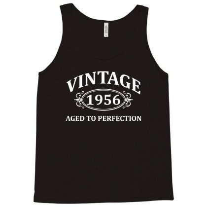 Vintage 1956 Aged To Perfection Tank Top Designed By Tshiart