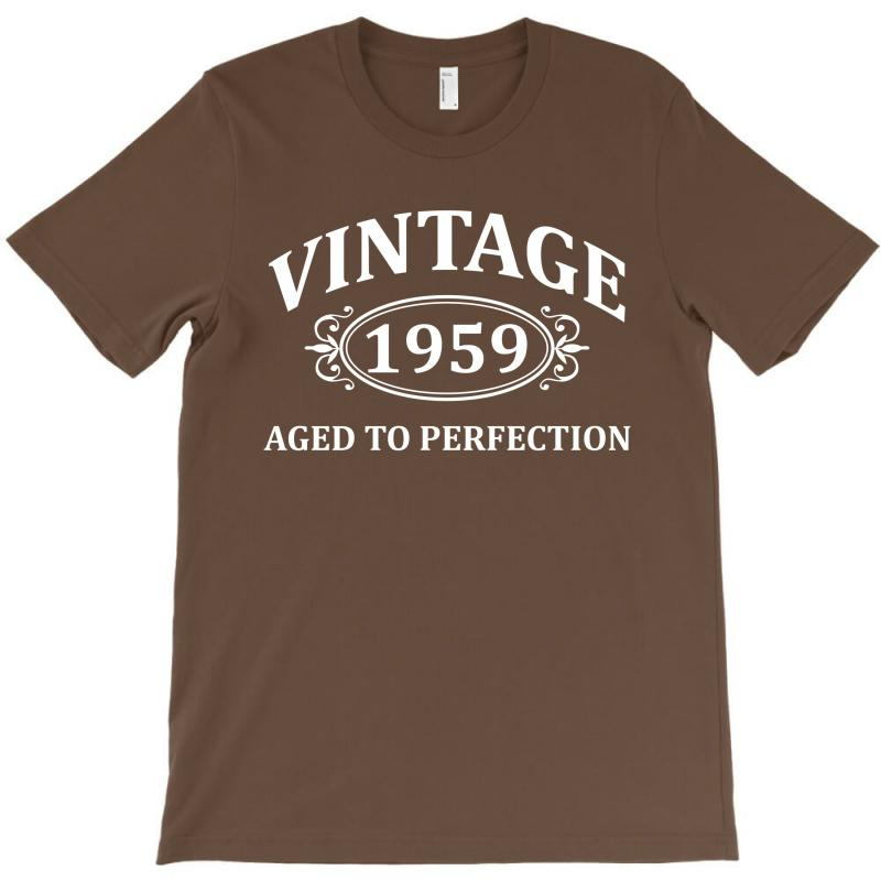 Vintage 1959 Aged To Perfection T-shirt | Artistshot