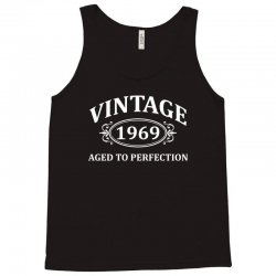 Vintage 1969 Aged to Perfection Tank Top | Artistshot