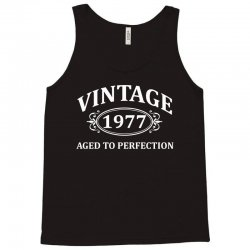 Vintage 1977 Aged to Perfection Tank Top | Artistshot