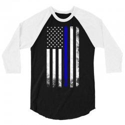 Vintage American Flag 3/4 Sleeve Shirt | Artistshot