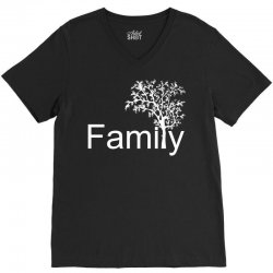 family tree V-Neck Tee | Artistshot
