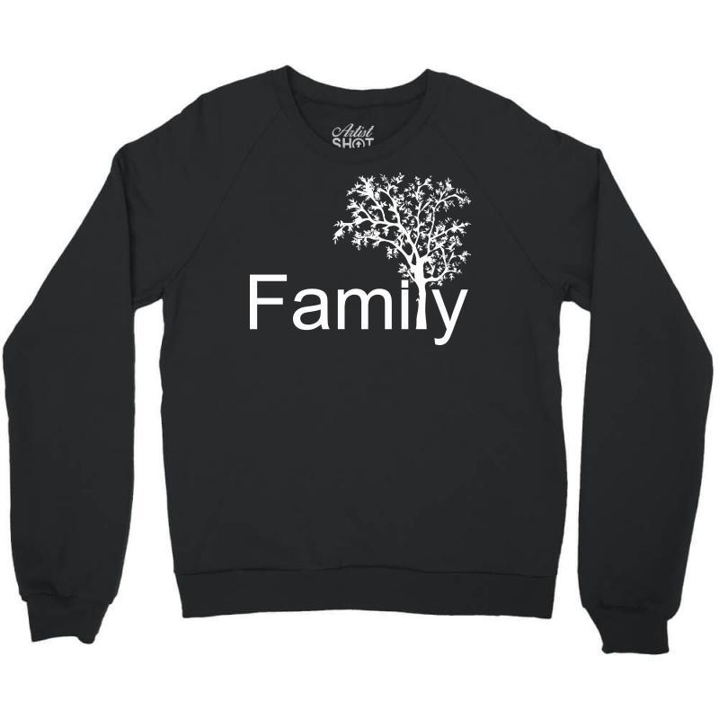 Family Tree Crewneck Sweatshirt | Artistshot