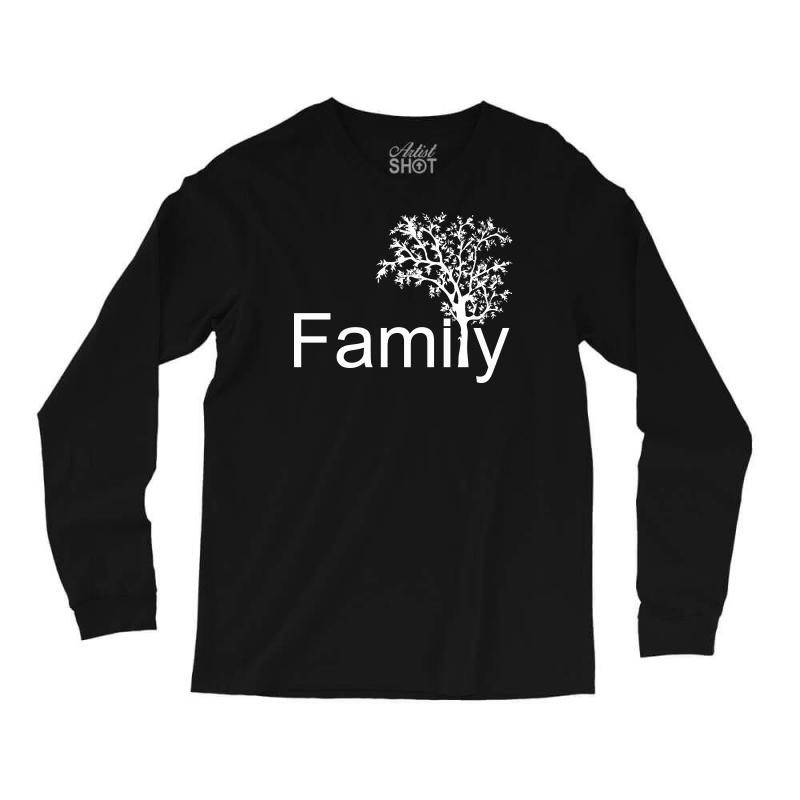 Family Tree Long Sleeve Shirts | Artistshot