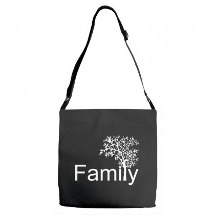Family Tree Adjustable Strap Totes Designed By Sbm052017