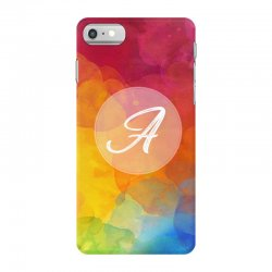letter a  initial iPhone 7 Case   Artistshot