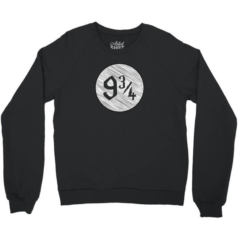 lowest price f30ac 72d32 9 3 4 nine three quarters harry potter hogwarts Crewneck Sweatshirt