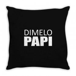 dimelo papi nicky jam reggaeton regueton Throw Pillow | Artistshot