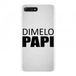 dimelo papi nicky jam reggaeton regueton  black iPhone 7 Plus Case   Artistshot