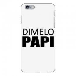 dimelo papi nicky jam reggaeton regueton  black iPhone 6 Plus/6s Plus Case   Artistshot