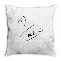 troye sivan signature Throw Pillow | Artistshot