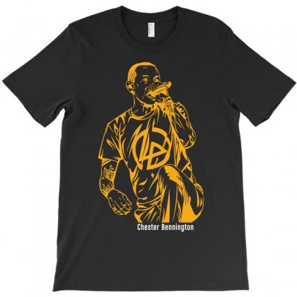 Rip Chester Bennington H2 T-shirt Designed By Harmonydue