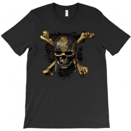 Pirates Of The Caribbean Dead Men Tell No Tales T-shirt Designed By Harmonydue