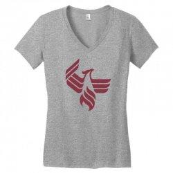 university of phoenix logo Women's V-Neck T-Shirt | Artistshot