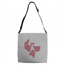 university of phoenix logo Adjustable Strap Totes | Artistshot