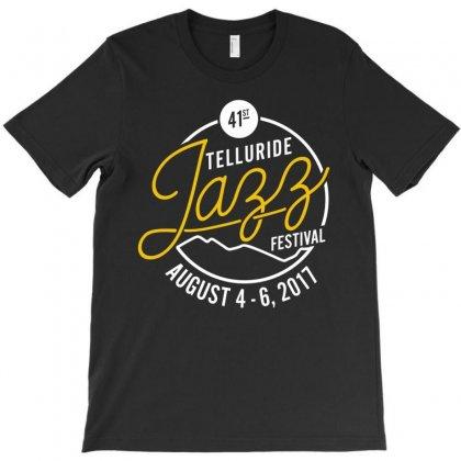 Telluride Jazz T-shirt Designed By Harmonydue