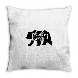 baby bear Throw Pillow | Artistshot