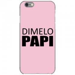 dimelo papi nicky jam reggaeton regueton  black iPhone 6/6s Case   Artistshot