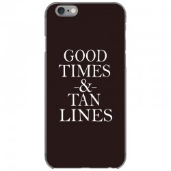good times and tan lines iPhone 6/6s Case | Artistshot