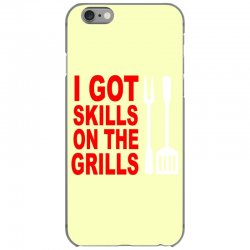 got skills on the grills apron iPhone 6/6s Case | Artistshot