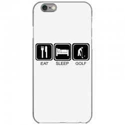 eat,sleep,golf iPhone 6/6s Case | Artistshot