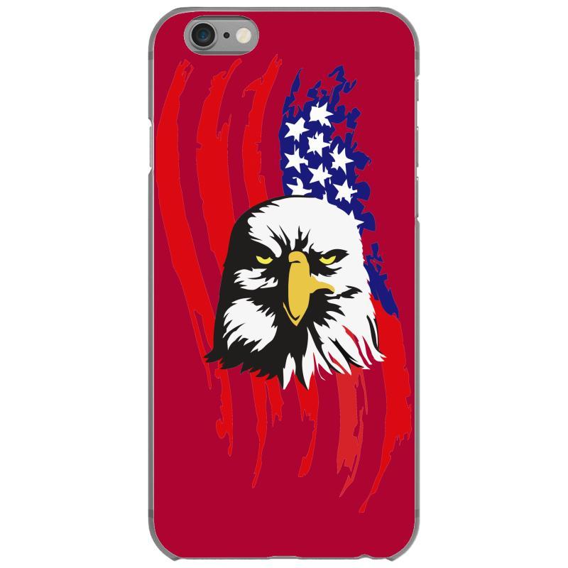 07c18d680 Custom American Eagle Usa Flag Head Iphone 6 6s Case By Sbm052017 -  Artistshot