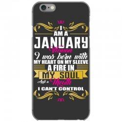 i am a january women iPhone 6/6s Case | Artistshot