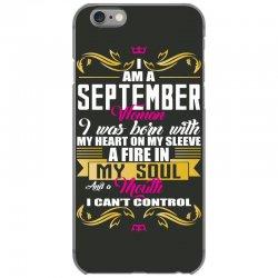 i am a September women iPhone 6/6s Case | Artistshot