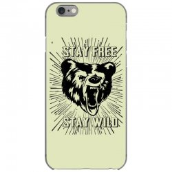 Stay Free Stay Wild iPhone 6/6s Case | Artistshot