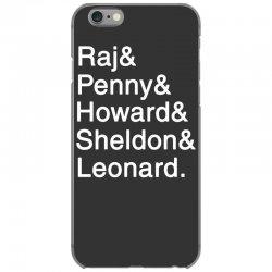 big theory list iPhone 6/6s Case | Artistshot