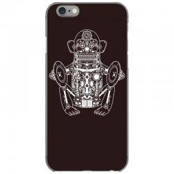 musician monkey robot iPhone 6/6s Case | Artistshot
