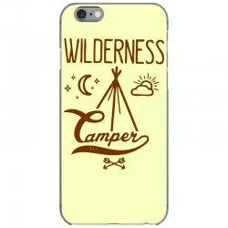 wilderness camper iPhone 6/6s Case | Artistshot
