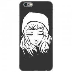 beanie hat eyes closed iPhone 6/6s Case | Artistshot