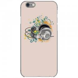 Music Animated Headphones Tshirt iPhone 6/6s Case | Artistshot