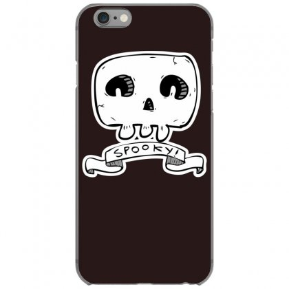 Spooky Skull Iphone 6/6s Case Designed By Specstore